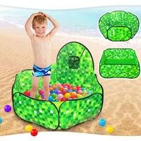 Hexagon Square Ocean Ball Pit Pool Game Shooting Play Tent Kids Hut Pool Play Tent Children