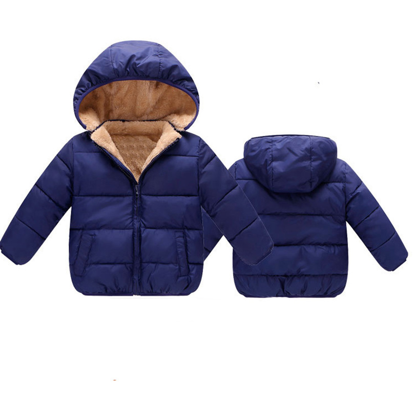 xunqicls 2017 Children Winter Clothing Baby Parka Coat Boys Girls Down Jacket Kids Warm Outerwear Clothes children winter coats jacket baby boys warm outerwear thickening outdoors kids snow proof coat parkas cotton padded clothes