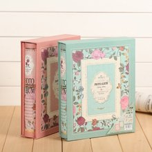 The page type flower album family album baby album 4D 6 inch 200 6 inch photo album