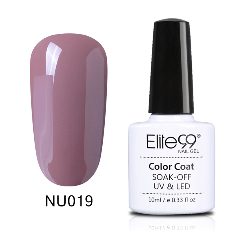 Elite99 24pcs/Set Nude Color Series UV Gel 10ml Nail Gel Polish ...