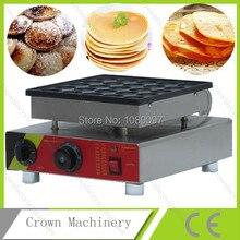 Автоматическая Poffertjes гриль на продажу; 25 шт. Электрический голландское печенье мини производитель блинов оборудование для выпечки плиты