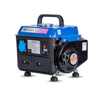 650 Вт портативный бензиновый генератор 220 В AC Выход бесшумный Кемпинг инвертор генератор набор