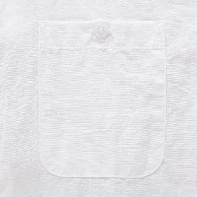 セミール男性ソフトコットンリネン襟シャツ男性半袖シャツ Regualr フィット男性のカジュアルシャツ男性トップ夏の服