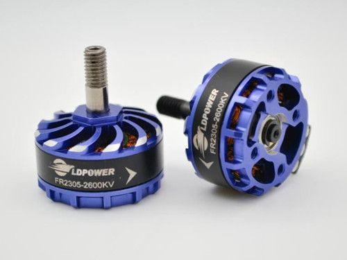 1 pair LDPOWER FR2305 2-4S CW/CCW 2300KV 2600KV Brushless Motor for FPV Racer