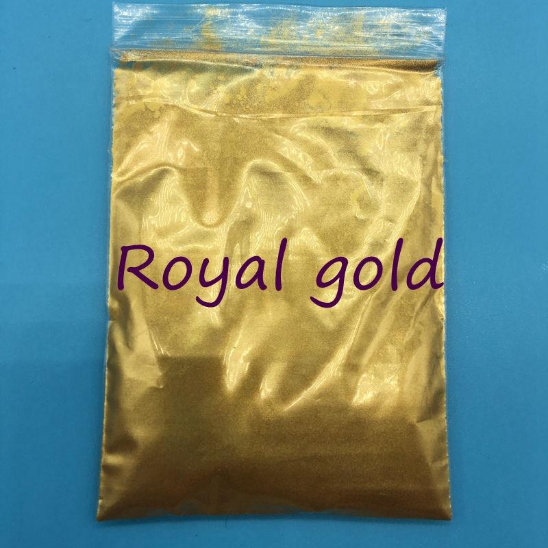 Pigment Mica-Powder Glitter Gold-Color Decoration. Royal for DIY 500g/Bag High-Quality