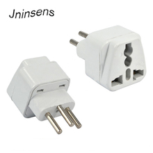 New High Quality White Universal EURO UK AU USA EU to Swiss Switzerland Suisse 3 Pin Plug Converter Travel Plug Adapter
