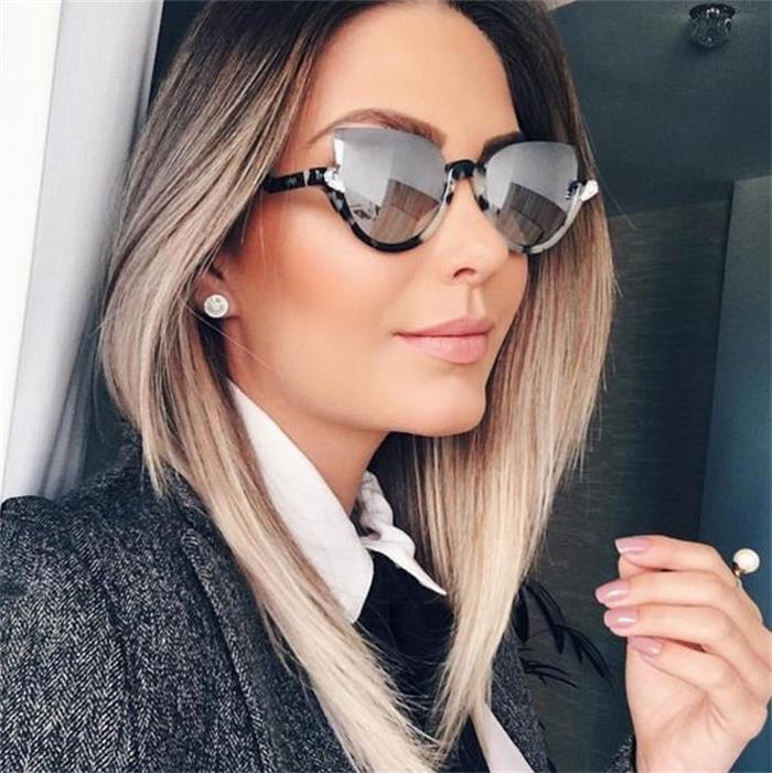 HTB1axT9XyHrK1Rjy0Flq6AsaFXaJ - Fashion cat eye mirror womens sunglasses brand designer Vintage Cateye luxury crystal Sun glasses Female Gradient Glasses frames