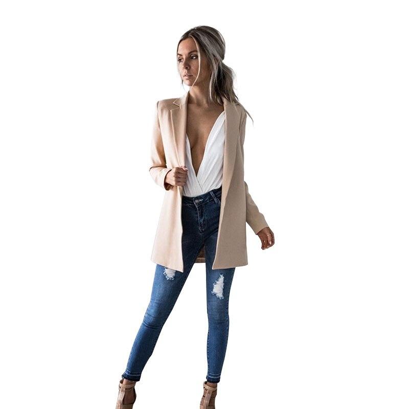 2017 Herbst Und Winter Neue Kleine Weihrauch Wind Dünne Klage Jacke Mode Warm Halten Lange Soild Jacke Blazer Feminino Hohe Qualität Online Shop Frauen Kleidung & Zubehör