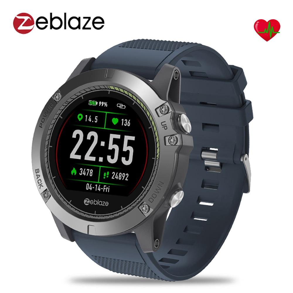 Newest Zeblaze VIBE 3 HR Smart Watch IP67 Waterproof Wearable Device Sleep Heart Rate Monitor IPS Color Display Sport Smartwatch g6 tactical smartwatch