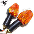 amber lens motorcycle Turn signal light for yamaha honda suzuki kawasaki Ducati KTM motorbike LED indicator universal general