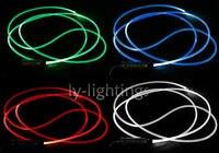 Прочный украшения освещения оптического волокна сбоку светлая сторона свечение твердых волоконно оптический 5 мм/50 м высокая эффективност