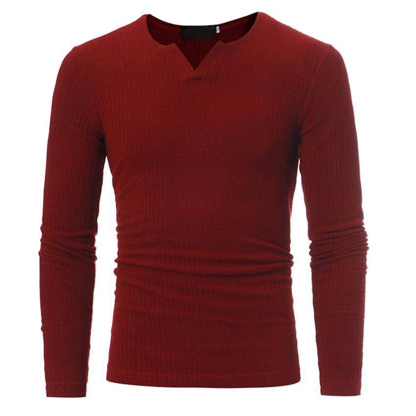 Man's Autumn Winter Casual V-Neck Men's Slim Sweaters Tops Blouse  T03 men's autumn and winter casual v-neck sweater