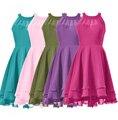 Customized Prom Dress Short Halter Chiffon Bridesmaid Dress Cheap Maid of Honor Dresses Party Dress 2016 Cheap Price