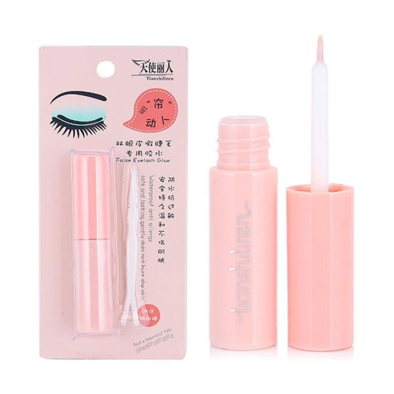 1Pc Double font b Eyelid b font Glue False Eyelash Extension Glue Waterproof No Stimulation font