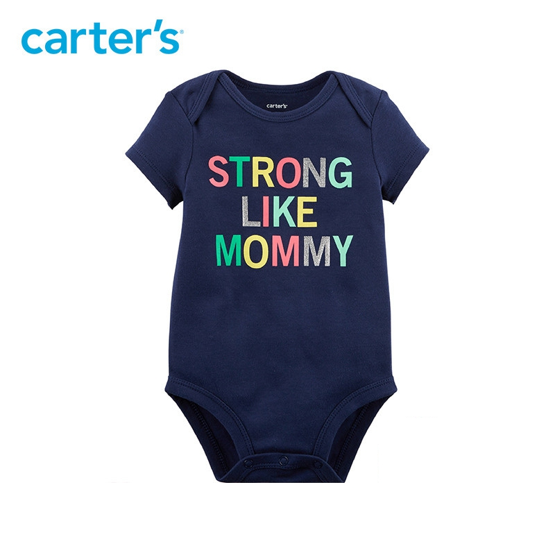f926a94a9b2a Carter s 1 Piece baby children kids clothing Girl Summer Strong Like ...