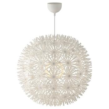 Lámparas colgantes de diseño moderno para dormitorio, lámpara colgante de diente de león blanco, luminaria colgante de suspensión, iluminación Industrial Nórdica