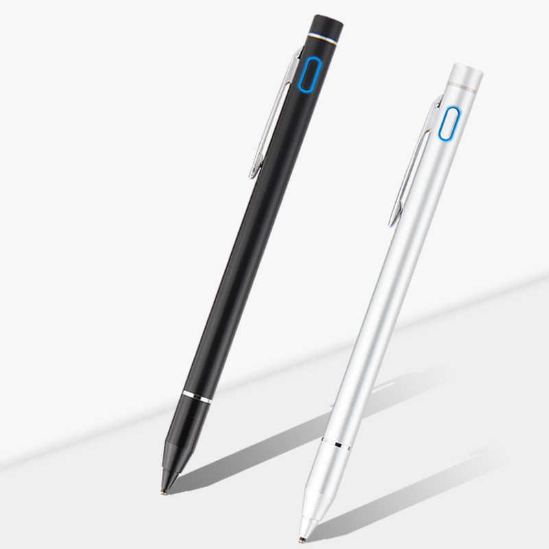 Ручка активная стилус емкостный сенсорный экран Сенсорный экран для huawei MediaPad M1 M2 M3 Lite 8,0 10 10,1 M3 8,4 M5 8,4 10,8 планшетный металлический наконечник пера