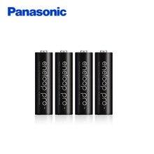 Panasonic pro Высокая Производительность 2550 мАч 4 шт./упак. Сделано в Японии Бесплатная Доставка NI-MH Предварительной зарядки AA батареи