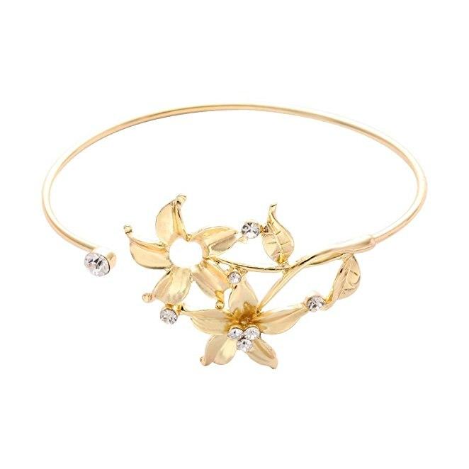 Large Wrap Bracelets Femme Casual CERCLE METAL Charme Cuff Bangle Bijoux Cadeaux