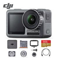 DJI Osmo Экшн камера 4 K HDR видео 60 P UHD подводный водонепроницаемый шлем двойные экраны стабилизация