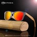 2017 Logotipo Personalizado Atacado Braços Óculos De Sol Polarizados Óculos De Sol Das Mulheres Dos Homens De Madeira de Bambu Caso de Madeira Original Customerized