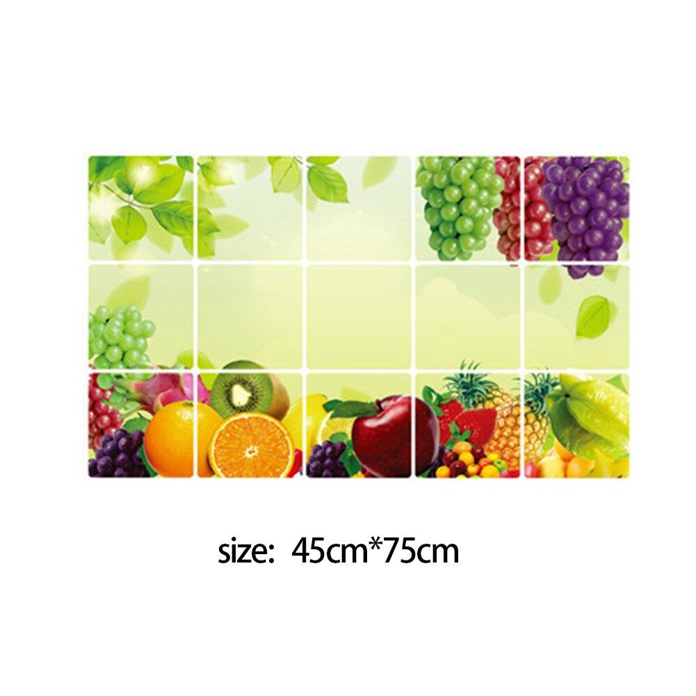 Kitchen PVC waterproof oil proof sticker decorative stickers home ...