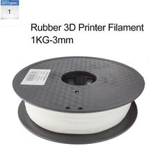 Caucho 3D Impresora Filamento 1 KG/Roll 3 MM Filamento Impresora 3D Makerbot RepRap De Goma
