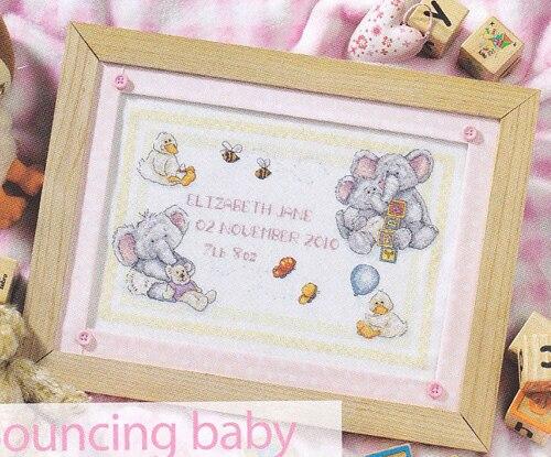 Gold82 1 Date of cute cartoon baby elephant born baby