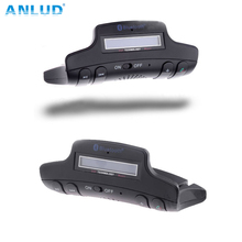 ALD50 más Fino Estupendo Volante Bluetooth Manos Libres Kit de Coche Con Altavoz Ultra-delgado 2 cm LCD TF Card FM Nombre para mostrar