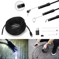 Endoscope Portable 5 5mm 5M Android Phone USB Type C USB C Endoscope Waterproof Borescope
