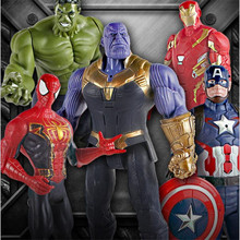 Marvel Avengers 4 endgame Toys Thanos Hulk Buster Spiderman Iron Man Captain America Wolverine Black Panther Action Figure Toys avengers infinity war thanos hulk black panther spiderman captain america iron man action figure marvel collectible model toys