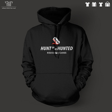 House of Cards hunt or be hunted men unisex pullover hoodie 100% cotton fleece inside heavy hooded sweatershirt Free Shipping