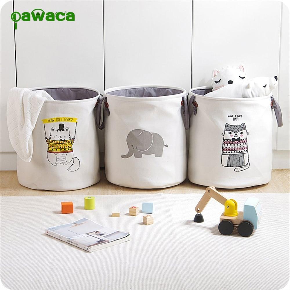Baby, Organizer, Clothing, Baskets, Nursery, Round