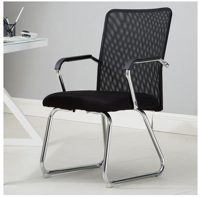 Office chair. Home computer chair. Mesh mahjong chair.. the silver chair