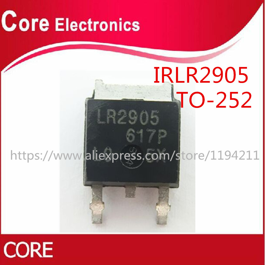 50PCS IRLR2905TRPBF TO252 MOSFET N-CH 55V 42A DPAK NEW
