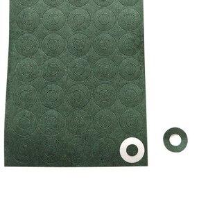 100 шт. 1S 18650 литий-ионная прокладка для изоляции аккумулятора ячменная бумага батарейный блок изоляционный клей патч электрод изолированные...