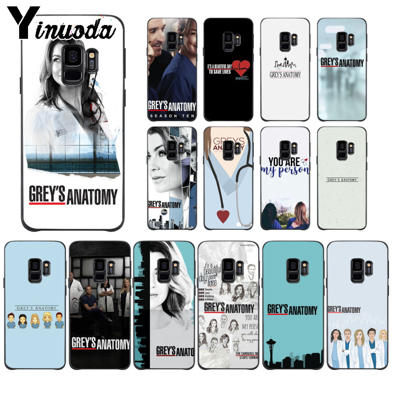 Yinuoda American Tv Greys Anatomy Nurse Doctor Phone Case For Samsung S9 S9 Plus S5 S6 S6edge S6plus S7 S7edge S8 S8plus Cover Fashionable And Attractive Packages Cellphones & Telecommunications