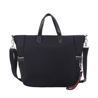 New Big Women Hobo Handbag Solid Color Crossbody Casual Simple Nylon Handbag Women Shoulder Messenger Bags Girl Travel Beach Bag