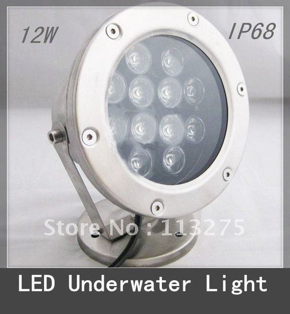 12W LED Fountain/Pool Light Underwater Lamp Waterproof IP 68 RGB change