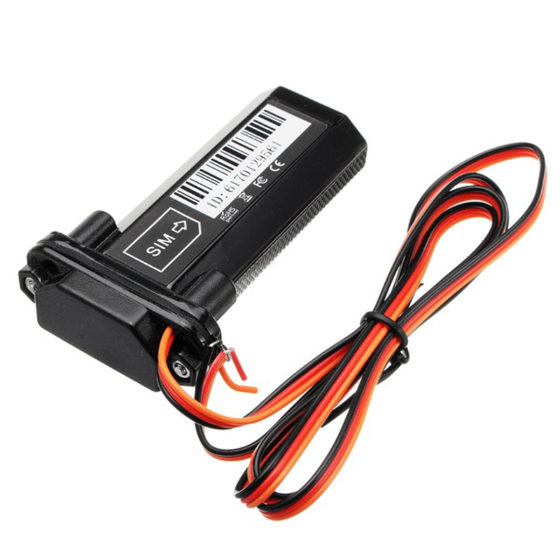 Micro GPS Tracker Waterproof Locator Electric Bike Motorcycle Car Burglar Alarm with ACC To Detect Ignition Universal Fit ...