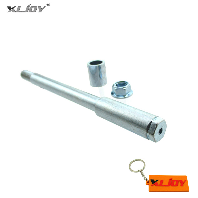 XLJOY 15mm Drilled Front Wheel Axle For SP/Marzocchi/Volt Adjustable USD  Front Forks used on Chinese Pit Dirt Bikes