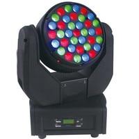 ACE Cabeza Movil Beam 37 Piezas 3W LEDs Luz Sonido Cabezas Moviles LED Luces Escenario Envio Gratis Impuesto No Incluido