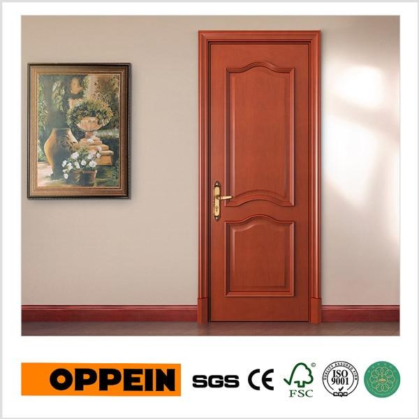 oppein noble de alta calidad de madera maciza puerta interior ydad