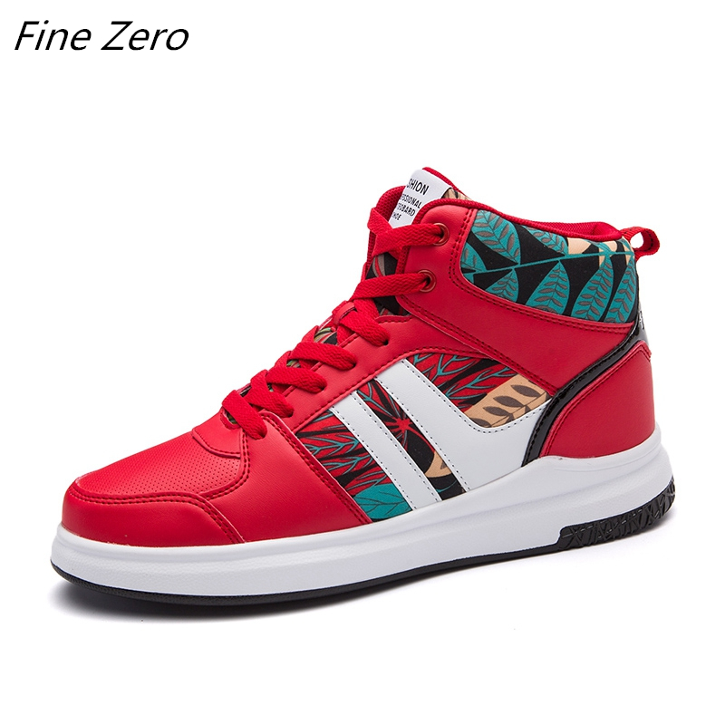 Fine Zero Super Hot Spring Autumn Men Sneakers Unisex Comfortable Quality High Top Shoes Men New Casual Shoes Masculinas Botas