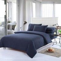 Simple Color Bedding Set Twin Double Queen King Size Print Sheet 2pcs Pillowcase /1Quilt/1Duvet Cover bedspreads 4pcs/set