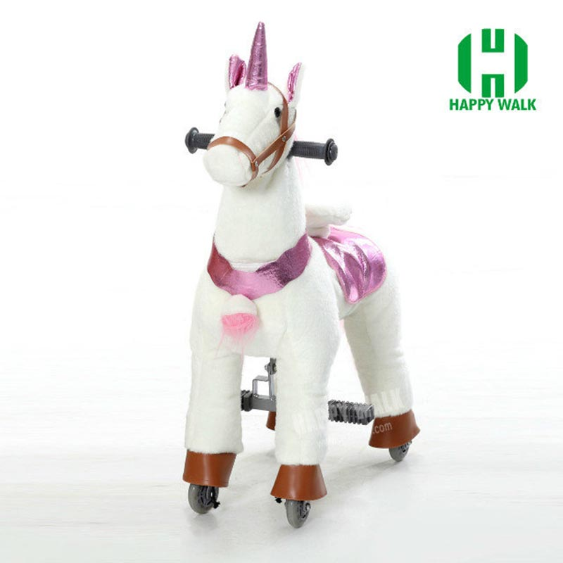 HI CE Outdoor Playground Toy Horse On Wheels , Mechanical Walking Horse For Kid Gifts/ Birthday Gifts