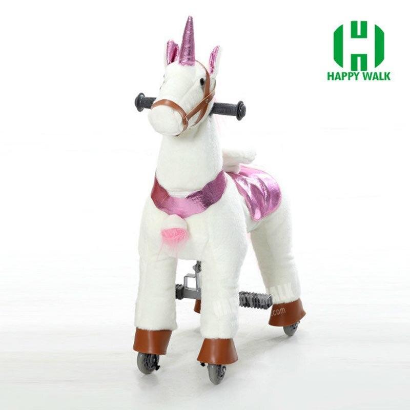 HI CE caballo de juguete al aire libre del patio sobre ruedas, - Deportes y aire libre - foto 5