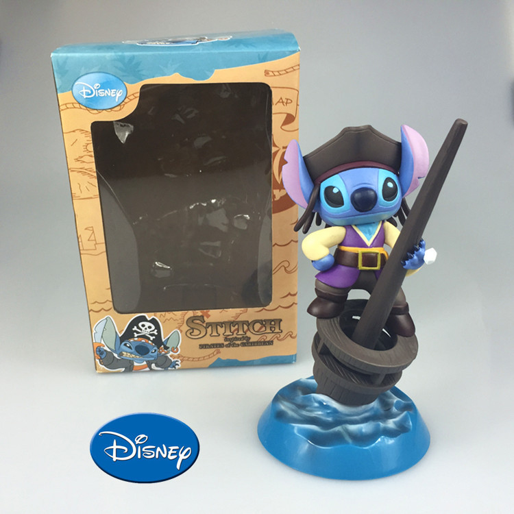 Disney Cartoon Toys For Kids Anime Cute Stitch Action Figures Dolls Children Christmas Gifts Brinquedos Pen Container Zy003 накладной светильник globo tabasco 48263