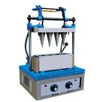 Ijs eierrekje machine wafer cup maker DST-4 ijsje making machine 220 V 2400 W 1 pc