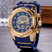 Relogio Dourado Masculino Men Watch Quartz Watches Men Luxury Hollow Business Military Wristwatches Male Clock Drop Shipping